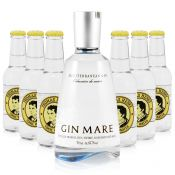 Gin Mare 0,7L (42,7% Vol.) + 6x Thomas Henry Tonic