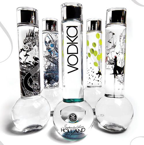 Bong Vodka Designs