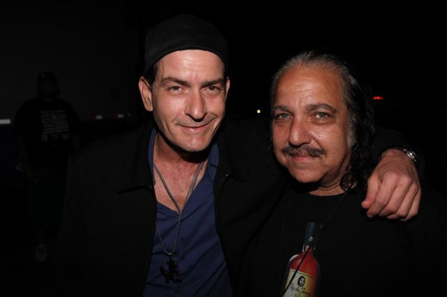 Ron Jeremy & Charlie Sheen