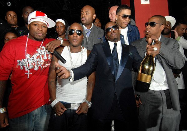 Jay Z, Diddy, Nelly
