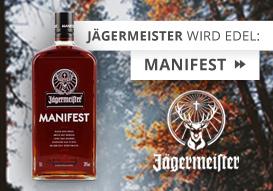 Einfach begehrenswert: Jägermeister Manifest!